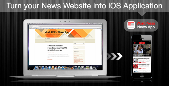 iOS Wordpress News App - CodeCanyon Item for Sale