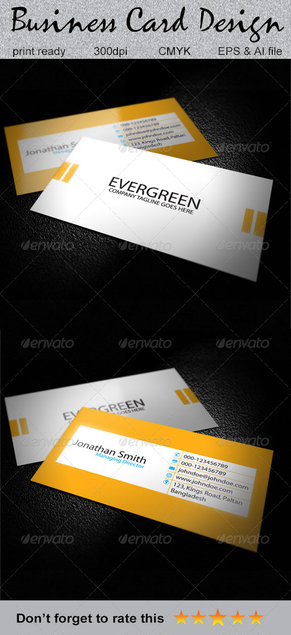 GraphicRiver Simple Business Card 6242006