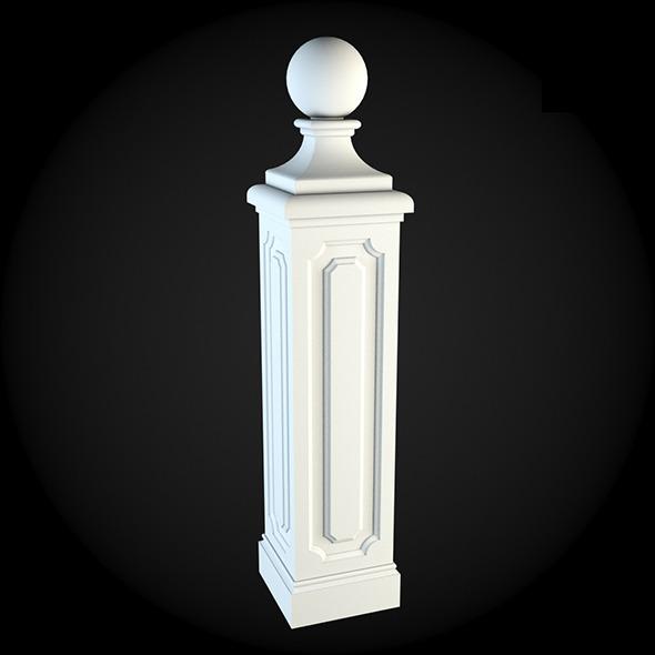 Pedestal 002 - 3DOcean Item for Sale