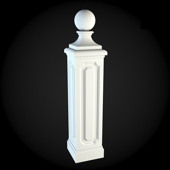 3DOcean Pedestal 002 6242046