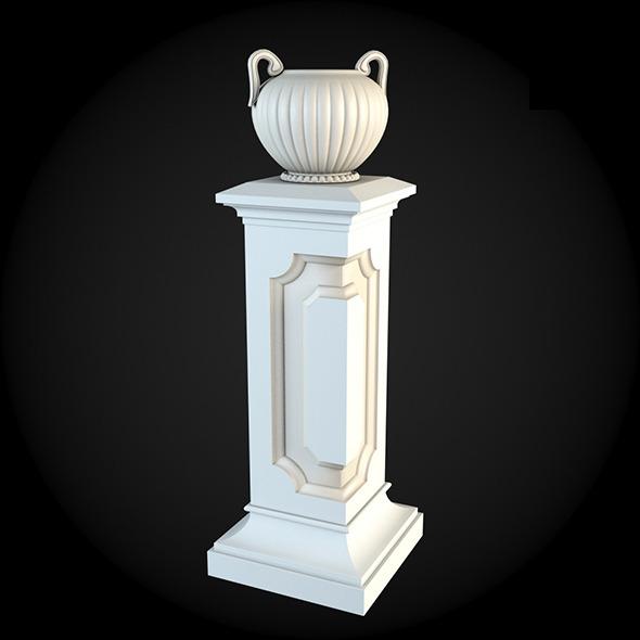 Pedestal 003 - 3DOcean Item for Sale