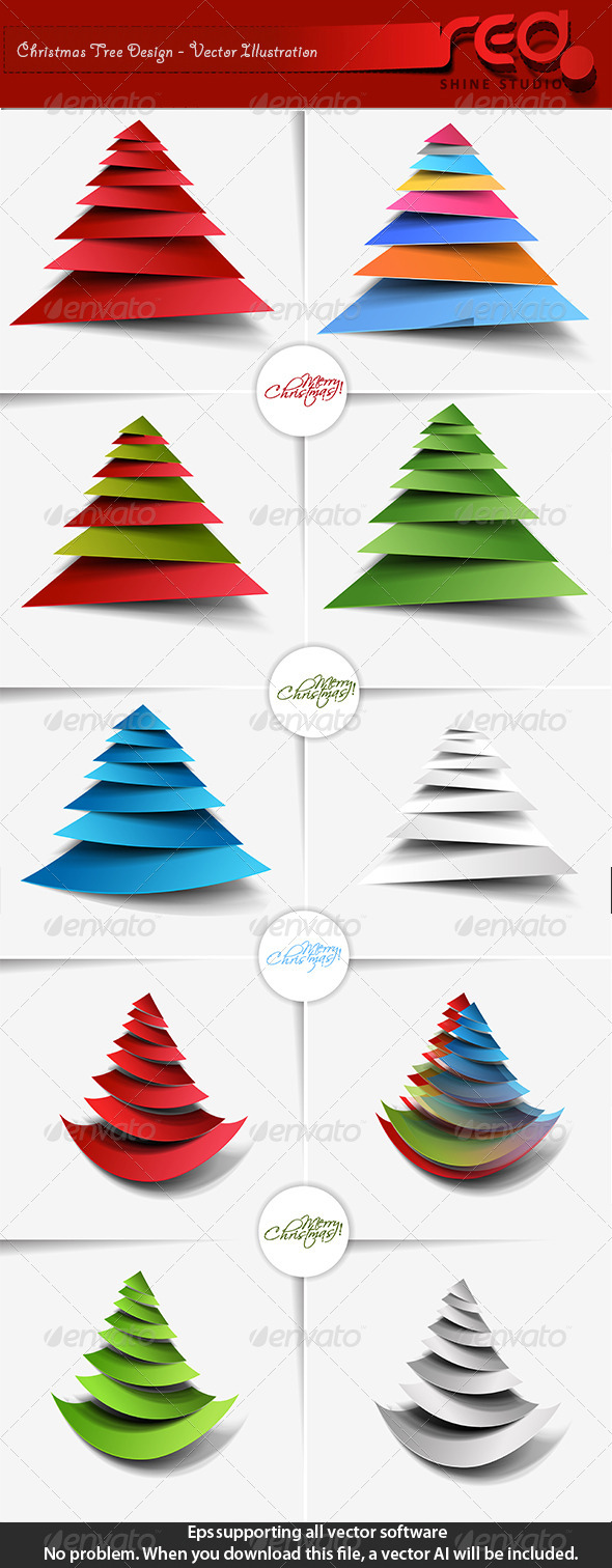 Christmas Tree Bundle - Christmas Seasons/Holidays