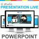 Gstudio Presentation Live Powerpoint Template - GraphicRiver Item for Sale