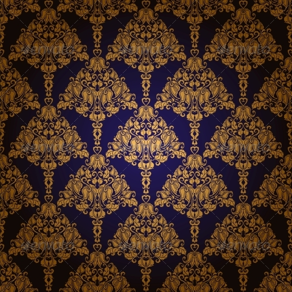 GraphicRiver Damask Seamless Floral Pattern 6242504