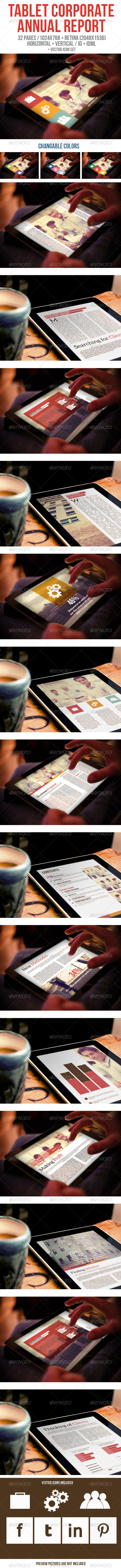 GraphicRiver Tablet Corporate Annual Report 6242597