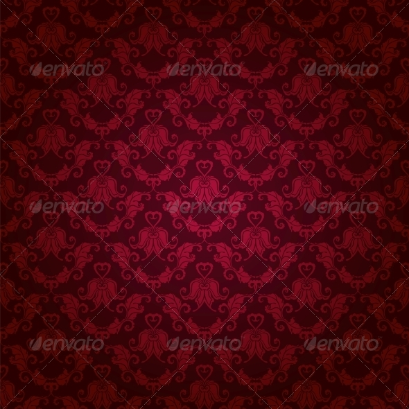 GraphicRiver Damask Seamless Floral Pattern 6242641