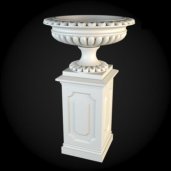 Pedestal 006 - 3DOcean Item for Sale