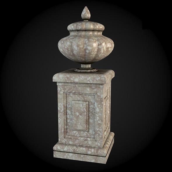 Pedestal 009 - 3DOcean Item for Sale