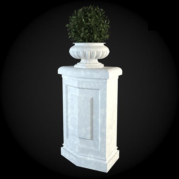 Pedestal 016 - 3DOcean Item for Sale