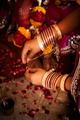 Hindu wedding ritual in india