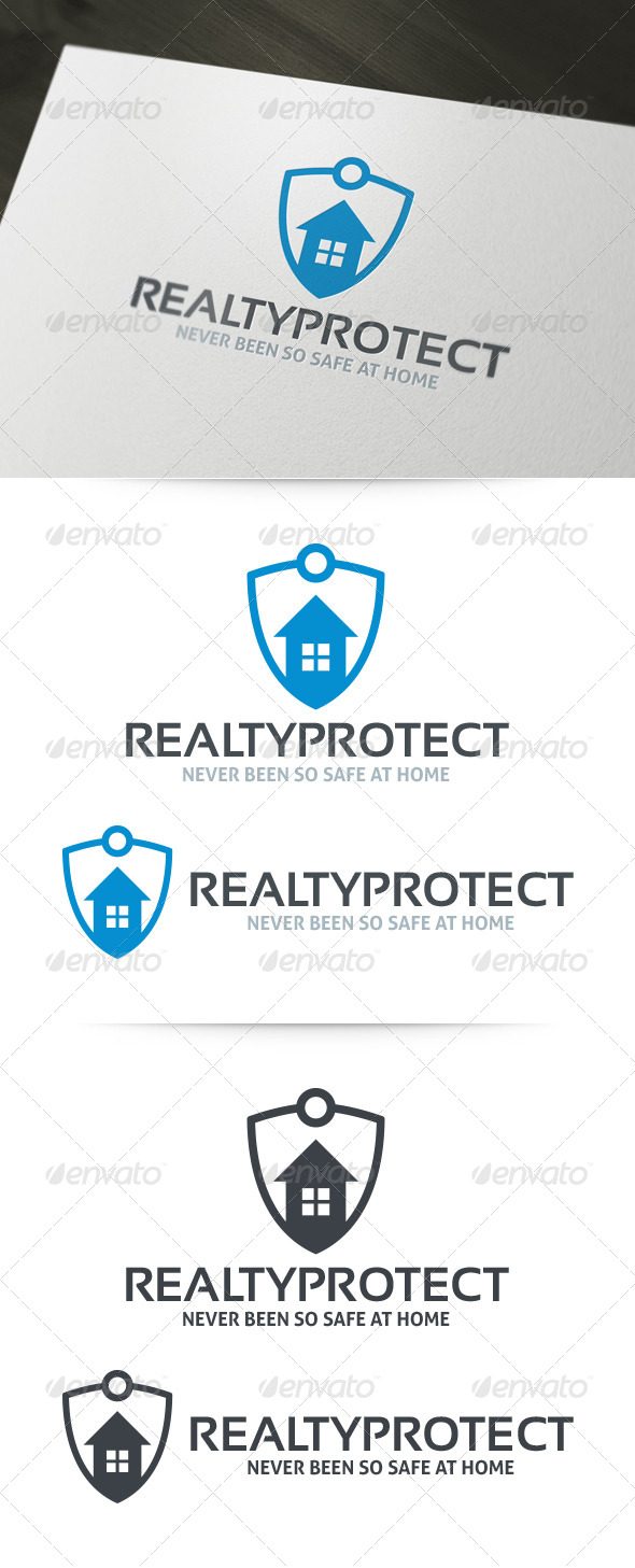 GraphicRiver Realty Protect Logo 6243333