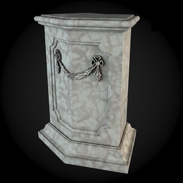 3DOcean Pedestal 020 6243552