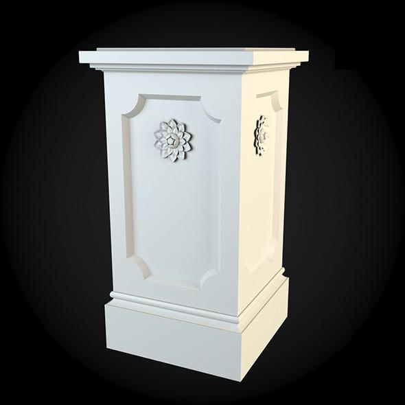 3DOcean Pedestal 022 6243643