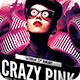 Crazy Pink Flyer - GraphicRiver Item for Sale