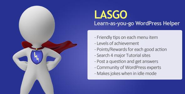 CodeCanyon Lasgo WordPress Tutorial Plugin 6214219