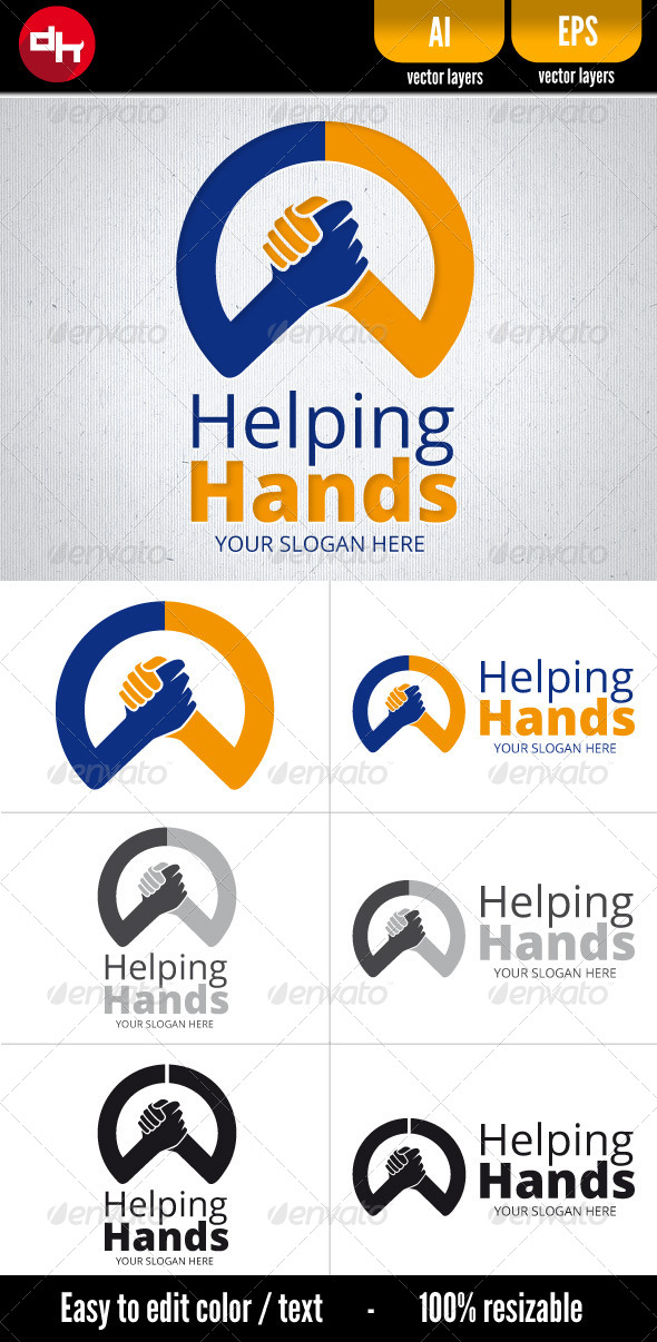 GraphicRiver Helping Hands 6244091