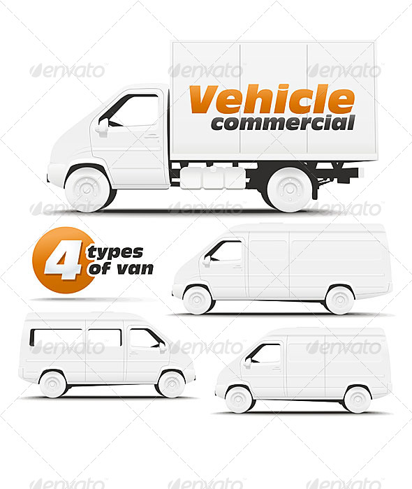 Vehicle Commercial - Backgrounds Business