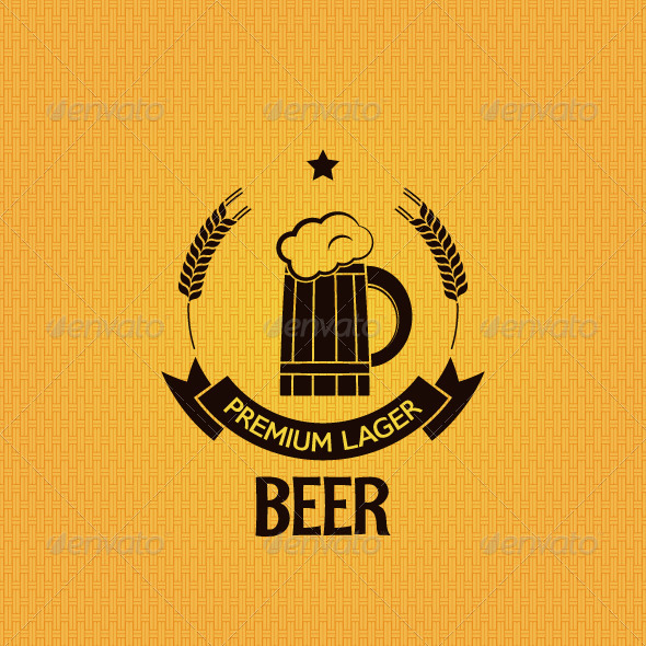 GraphicRiver Beer Mug Old Label Background 6244440