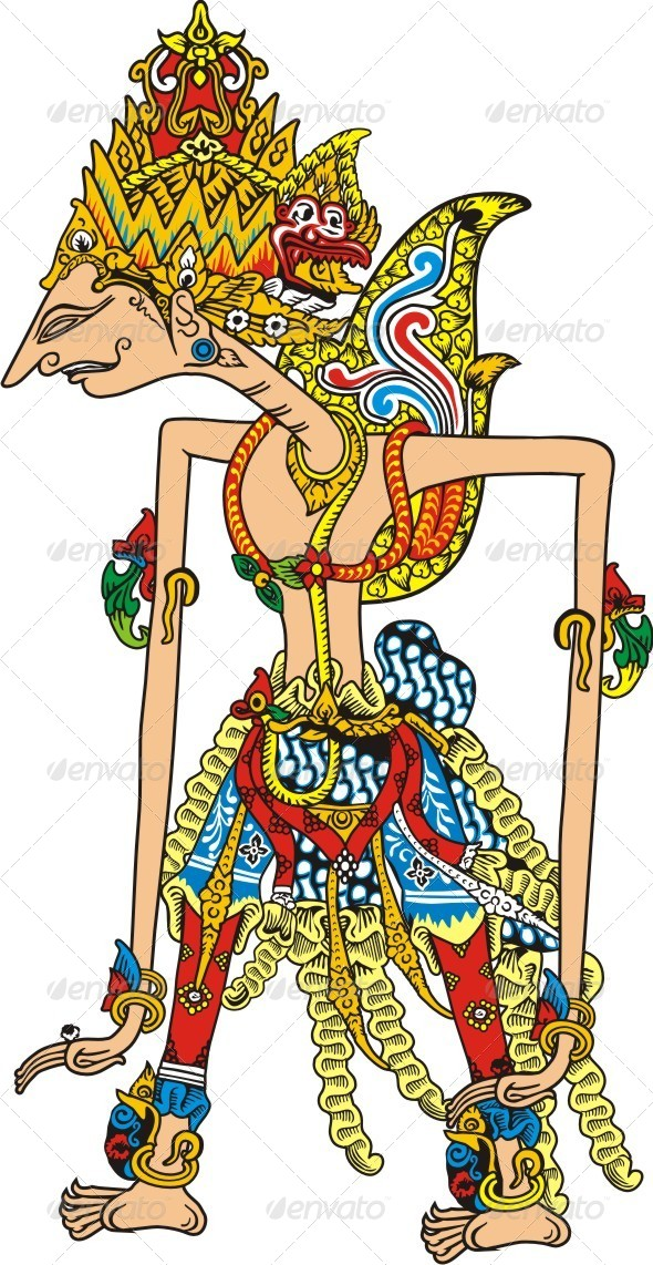 GraphicRiver Javanese Puppet 6244488