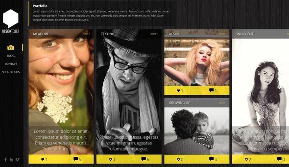 Gazelle - Responsive AJAX Portfolio and Blog Theme