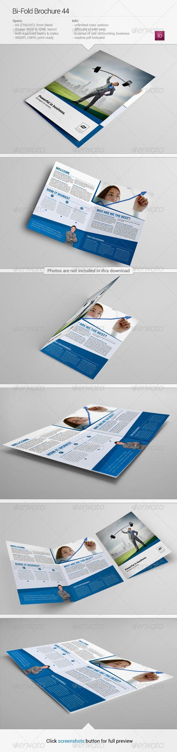 GraphicRiver Bi-Fold Brochure 44 6245228