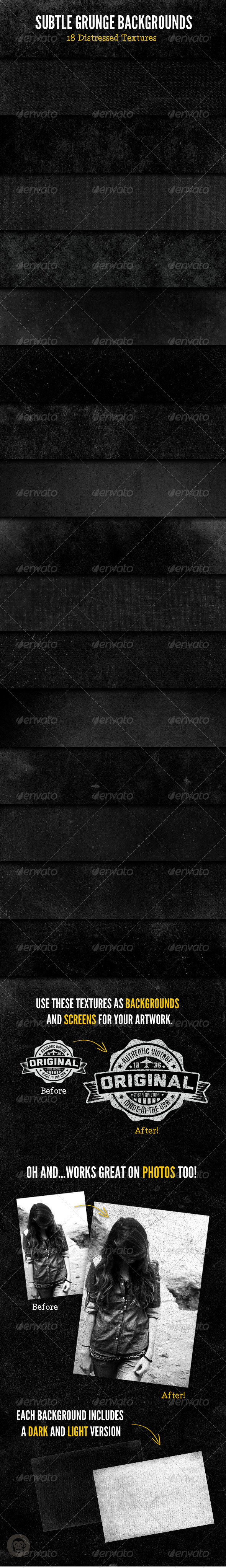 GraphicRiver Subtle Grunge Backgrounds 6245270