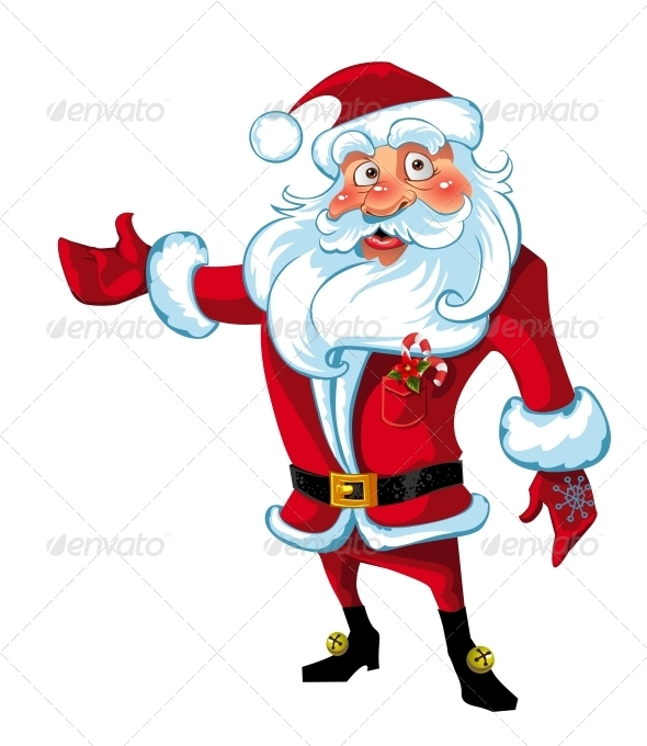 GraphicRiver Santa Claus Presentation 6245792