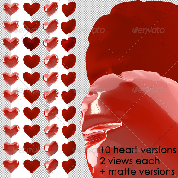 GraphicRiver Hearts Collection 6207536