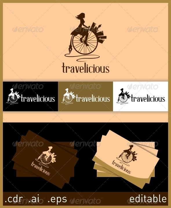 GraphicRiver Travelicious Logo 6246662