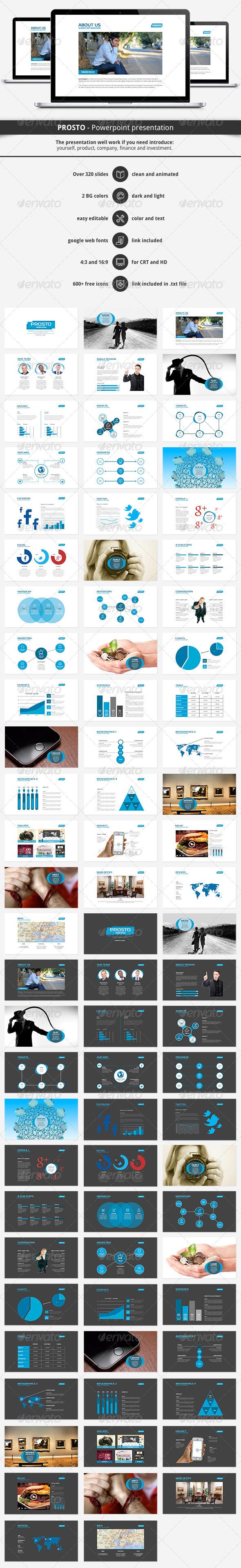 GraphicRiver PROSTO Powerpoint Presentation 6246775