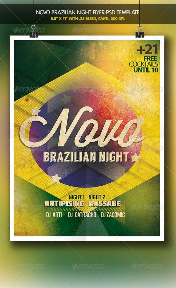 GraphicRiver Novo Party Brazilian Night 6200383