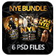 Elegant New Year Bundle | Flyers + FB Covers - GraphicRiver Item for Sale