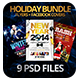 Holiday Bundle | Flyers + FB Covers - GraphicRiver Item for Sale