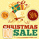 Hot Christmas Sale Poster - GraphicRiver Item for Sale
