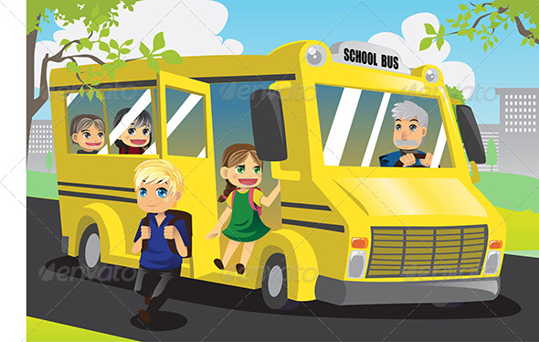 GraphicRiver School Kids 6247396