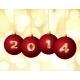 Glass Christmas Balls 2014