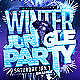 Winter Jungle Party Flyer Template - GraphicRiver Item for Sale