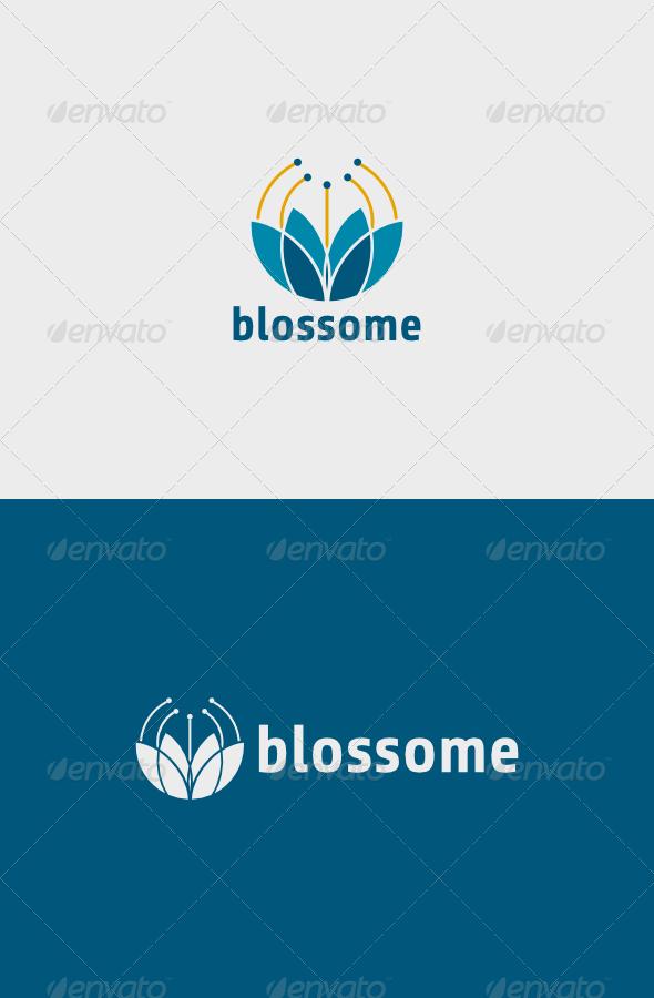 GraphicRiver Blossome Logo 6248193