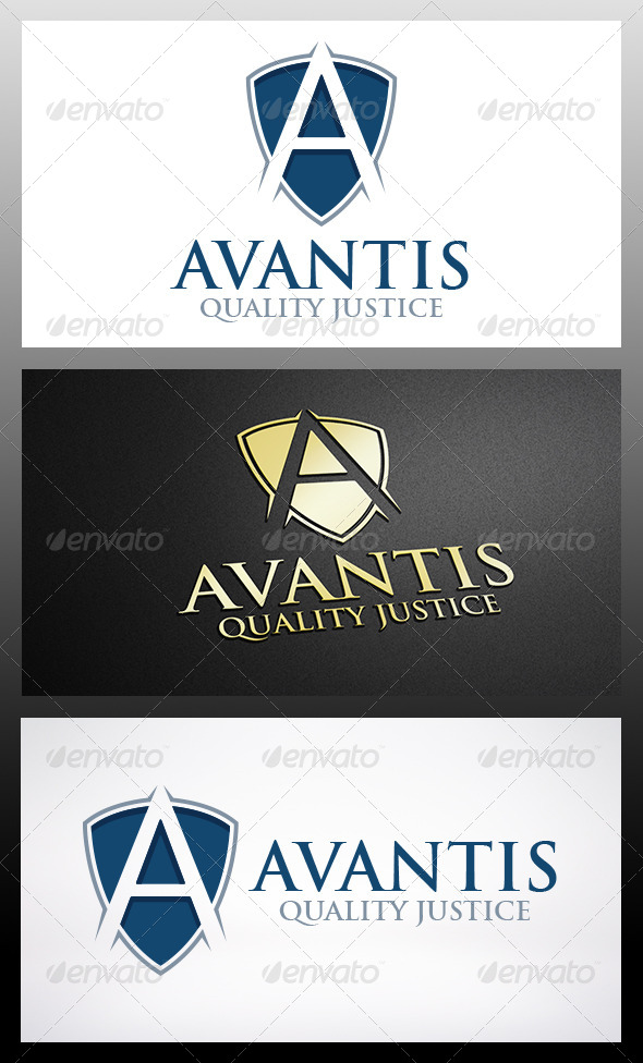 GraphicRiver Shield A Logo 6248558