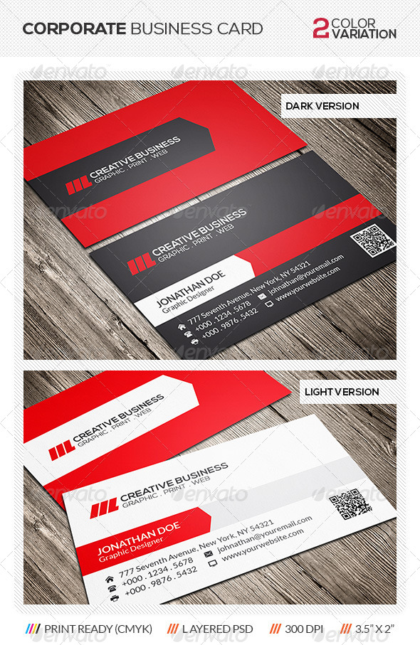 GraphicRiver Modern Business Card 6248627