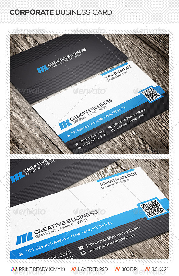 GraphicRiver Corporate Business Card 6248640