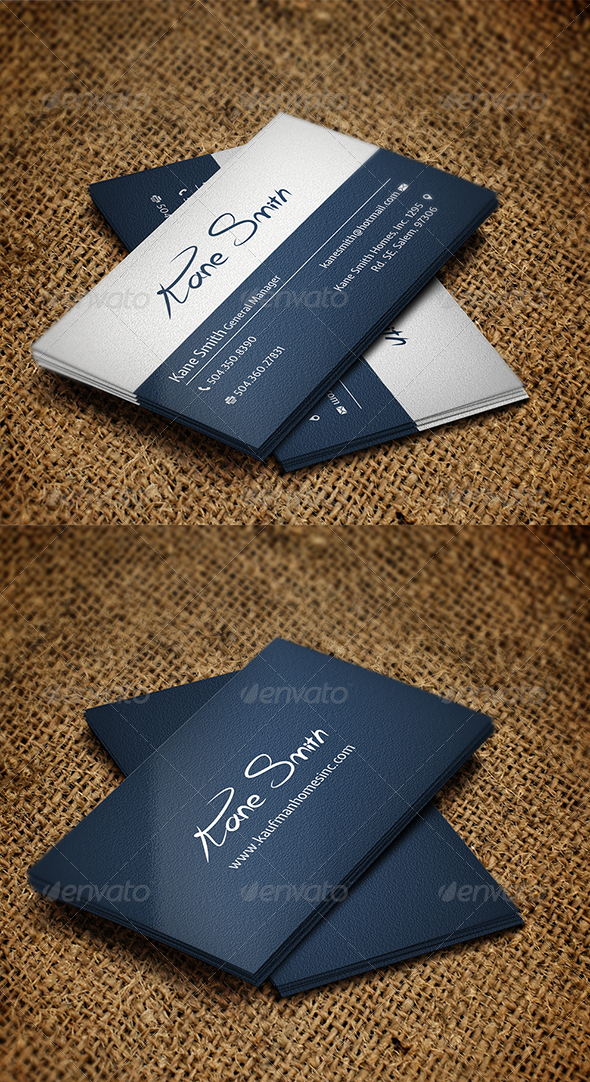 GraphicRiver Business Card 6248915