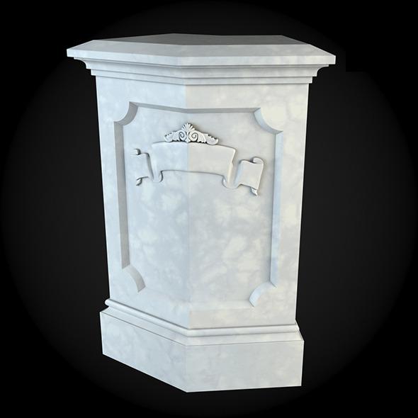 3DOcean Pedestal 024 6249063