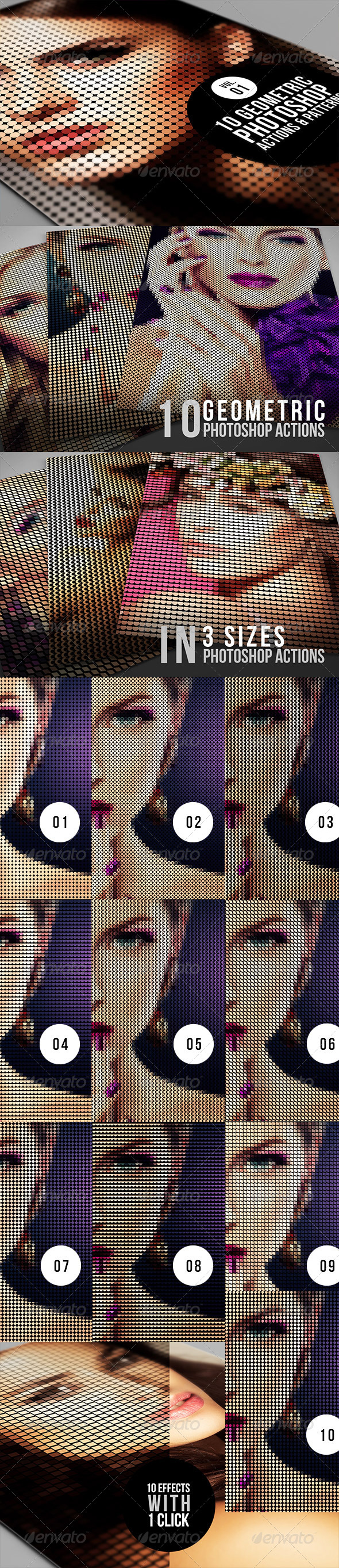 GraphicRiver 10 Geometric Photoshop Actions 01 6249126