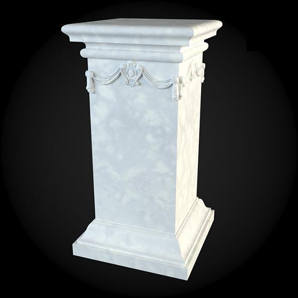 Pedestal 033 - 3DOcean Item for Sale