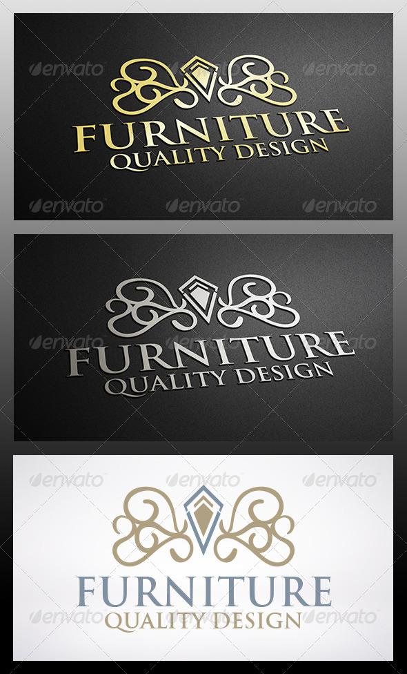 GraphicRiver Furniture Logo 6249781