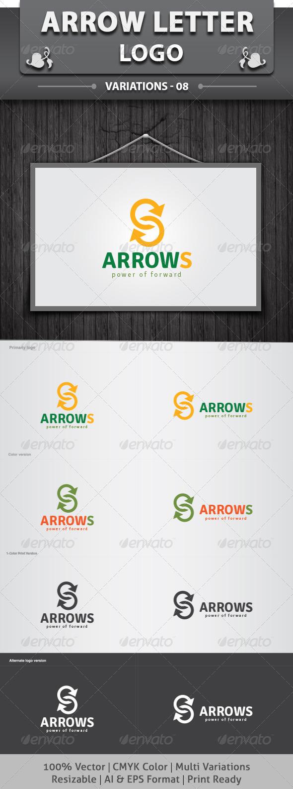 GraphicRiver ArrowS Logo 6250171