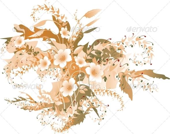 GraphicRiver Delicate Floral 6250808