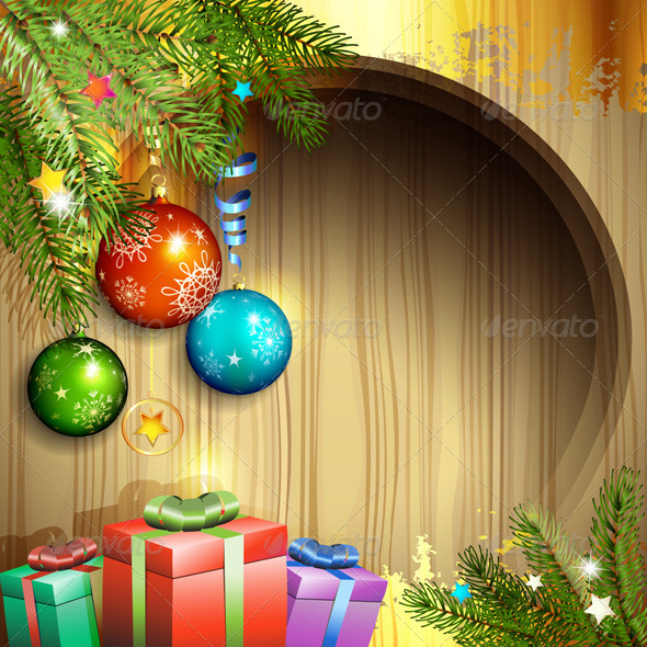 Christmas Ball and Gifts