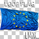 EU Loops Flag - VideoHive Item for Sale